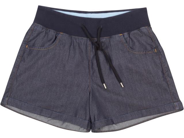 Elkline Toohot Shorts Women, darkdenim
